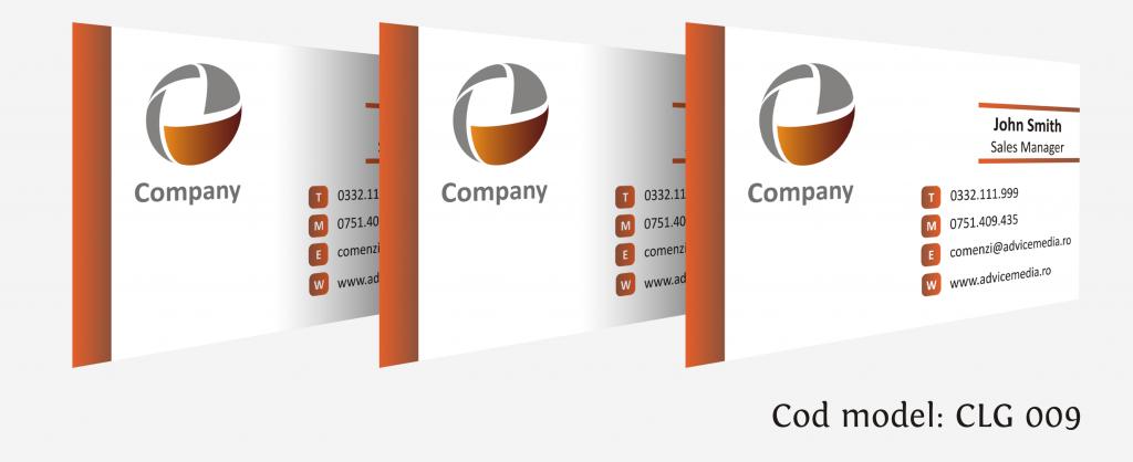 carti de vizita cu logo CLG 009