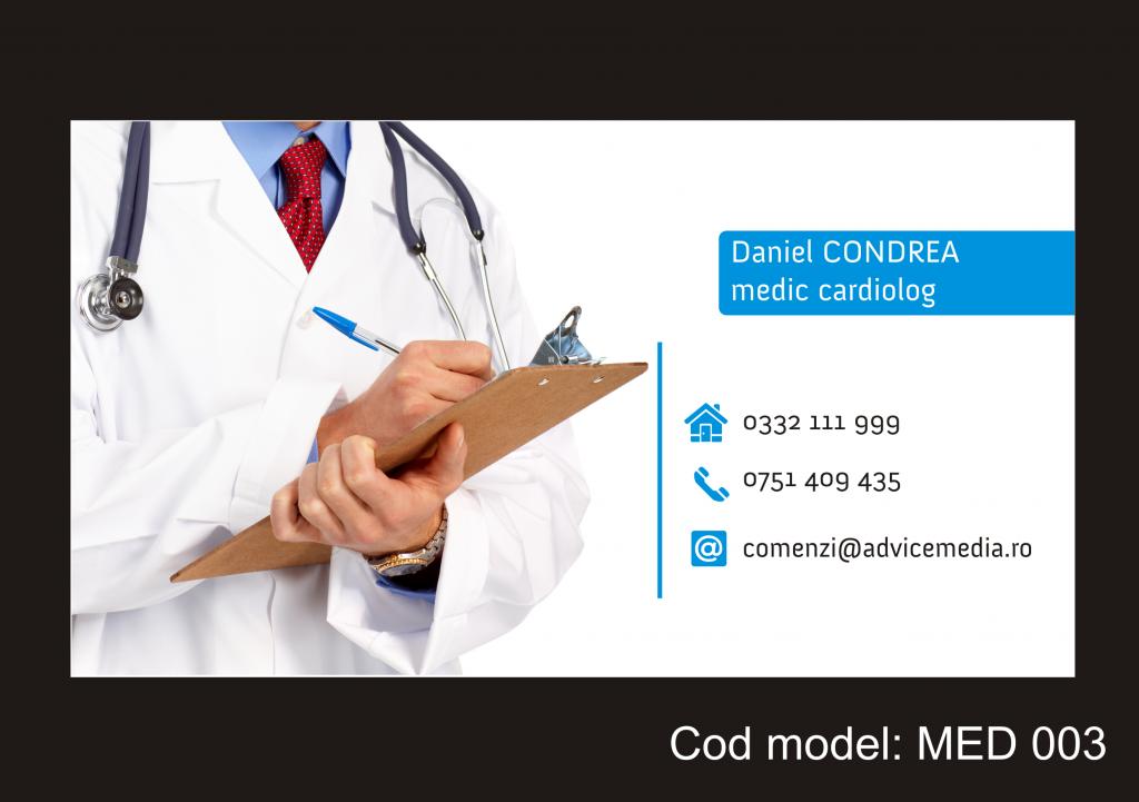 model carti de vizita medici MED 003