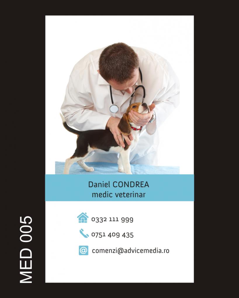 model carti de vizita medici MED 005