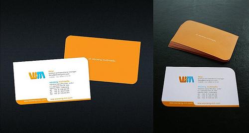 carti de vizita orange 01