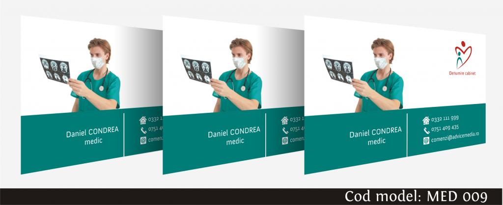 carti de vizita medicina 009