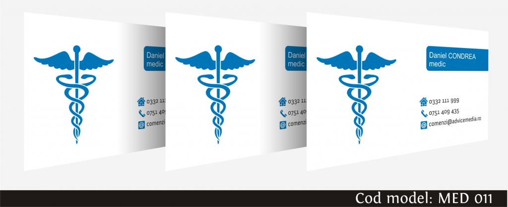 carti de vizita medicina 011
