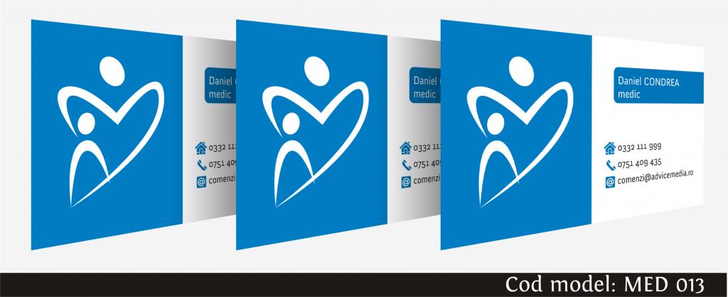 carti de vizita medicina 013
