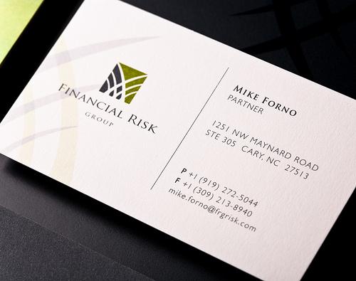 financial risk carti de vizita