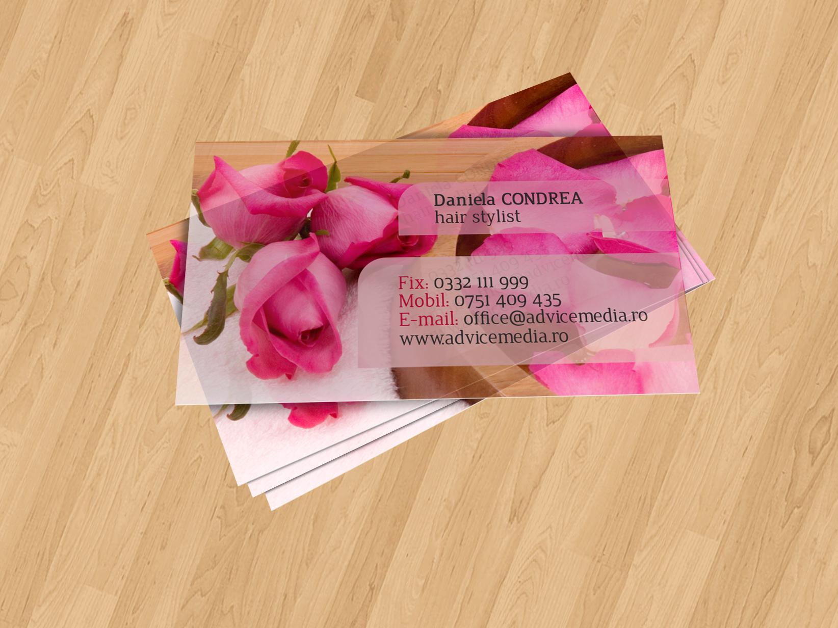 carti de vizita cosmetica COS 012