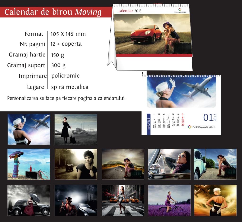calendar birou 2013 Moving