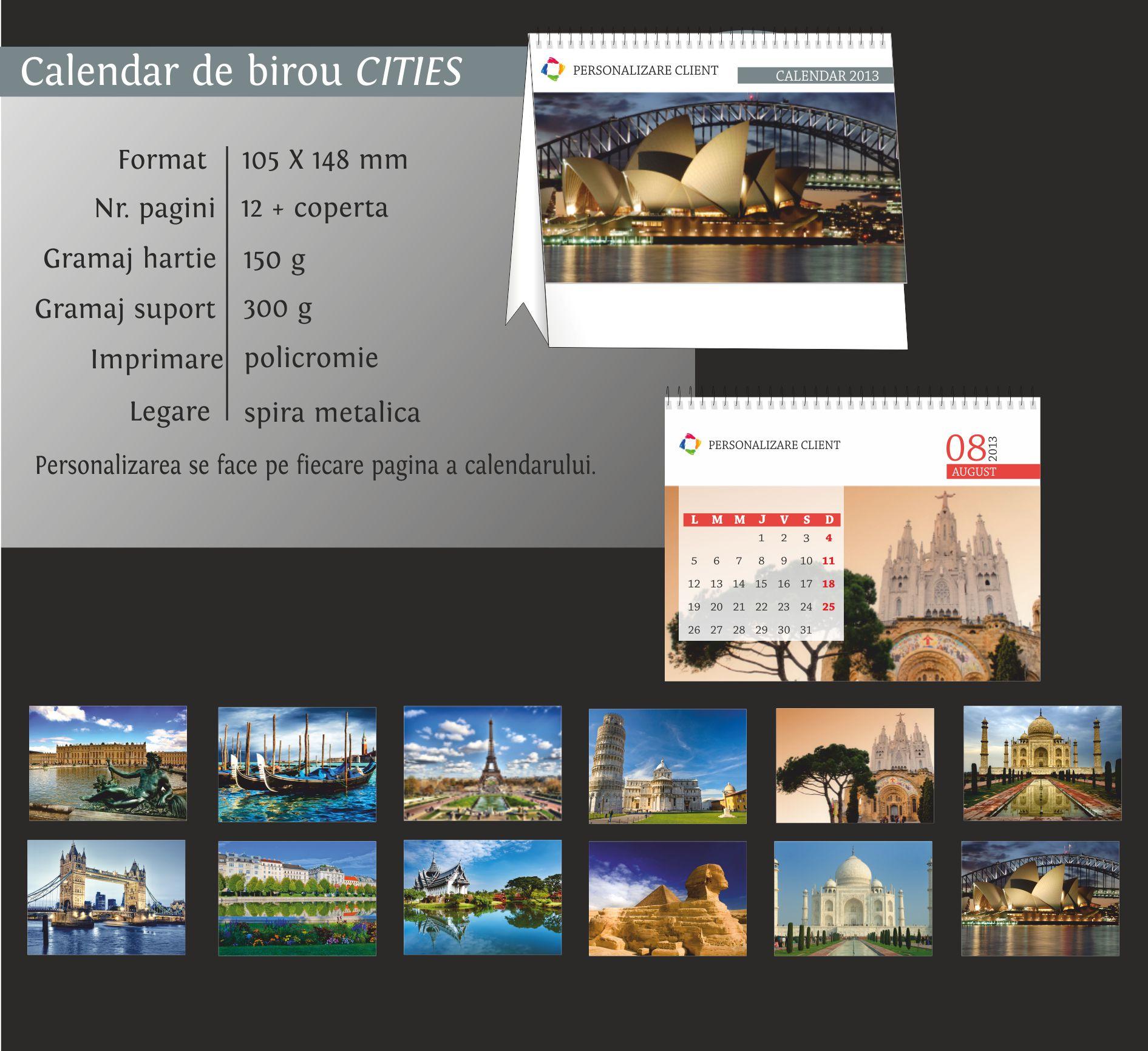 calendare birou cities